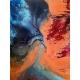 Exodus acrylic on canvas by Laura Fishman