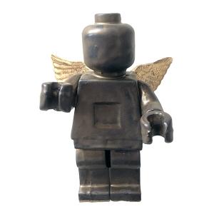 Small Ego Man Angel Gold Matt Shinny Wings