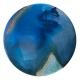 Viscosoties 3 mixed media on aluminuim by Ursula Kellett