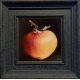 Red and Yellow Apple_framed