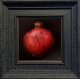 Red Pomegranate_framed
