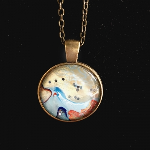 Necklace Gold Sparkle