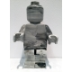 Big Ego Man Marble ceramic sculpture