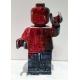 Small Ego Man Red ceramic sculpture