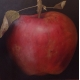 Planet Apple oil on canvas