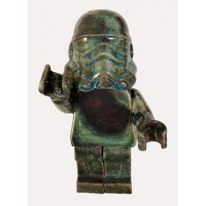 Ego Man Trooper Raku Sapphire
