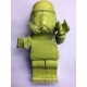 Ego Man Trooper Lime Yellow ceramic sculpture