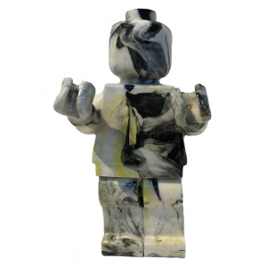 Small Ego Man Marble Yellow
