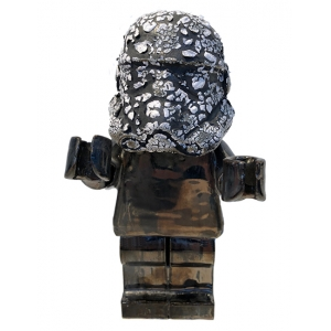 Ego Man Trooper Crawl Head Pewter Body