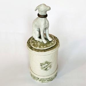 Sitting Dog Plinth