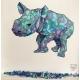 Geometric Baby Rhino2