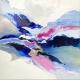 Glacier Bay acrylic on canvas by Laura Fishman