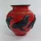 A Murder of Crows Ceramic Vase