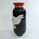 A Visitation of Ravens Ceramic Vase