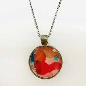 Necklace Red Curve