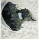 Antarctic Seals linocut print