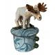 Mighty Moose ceramics by Megan Adams
