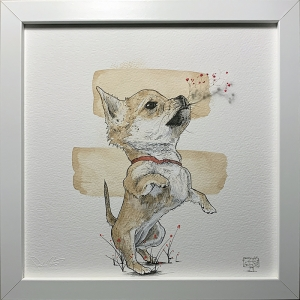 Mini Dog: Framed