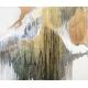 Gilded Elixir acrylic on canvas by Laura Fishman