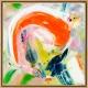 Hidden Colours 2 acrylic painting by Marit Geraldine Bostad