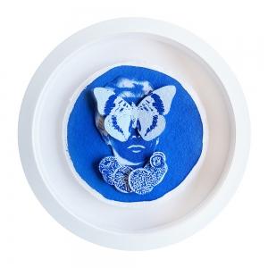 Nobel Marie Study In Blue 3D