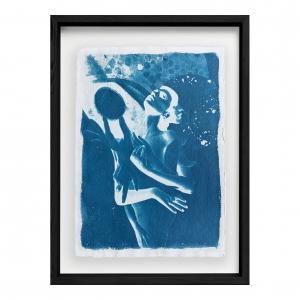 Hypatia's Celestial Studies (Heavenly Heroine): Framed