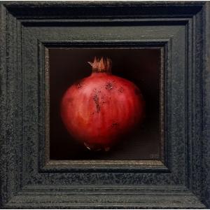 Red Pomegranate_framed