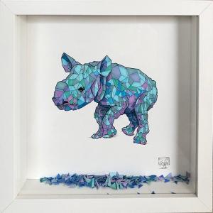 Geometric Baby Rhino
