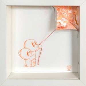 Reveal Mould Orange Corner Pull