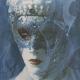 Carnavale di Venezia Blue Woman: Detail1