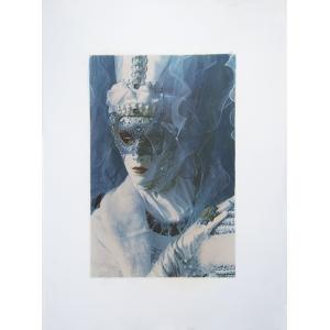 Carnavale di Venezia Blue Woman